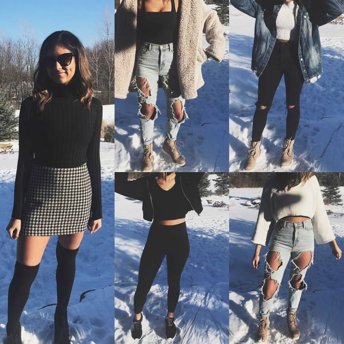 5 Fashion Staples Girls Need For When It's 32 Degrees Or Less