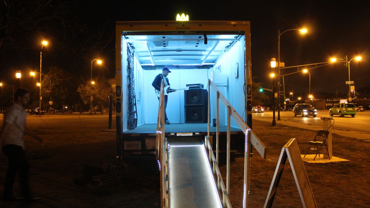 'Unpacked Mobile Gallery' Comes To Northern Illinois University's Convocation