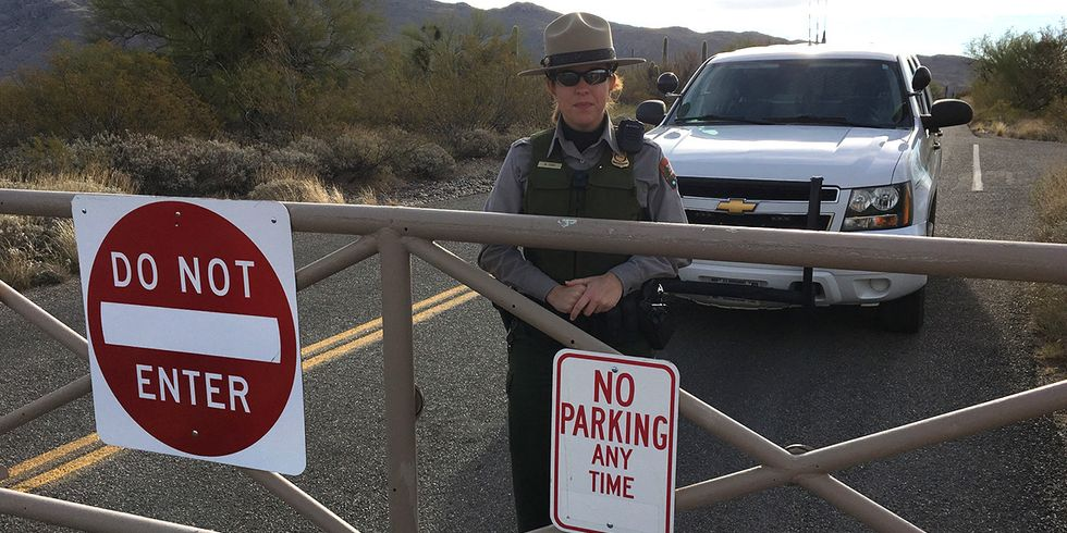 Confusion Reigned at Semi-Shut-Down National Parks
