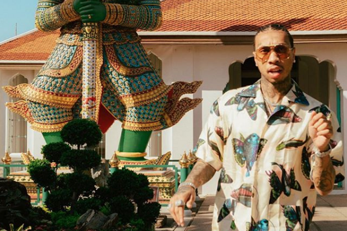 Tyga Stands by His Borderline Offensive Album Cover Art