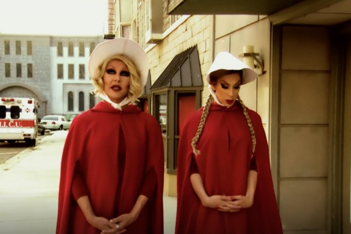 RuPaul's 'Drag Race' Stars Spoof 'The Handmaid's Tale'