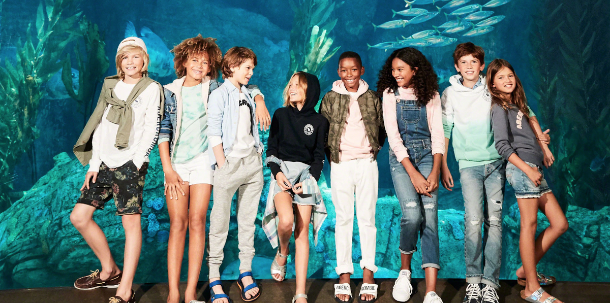 Abercrombie's 'Everybody Collection' Prioritizes Boys