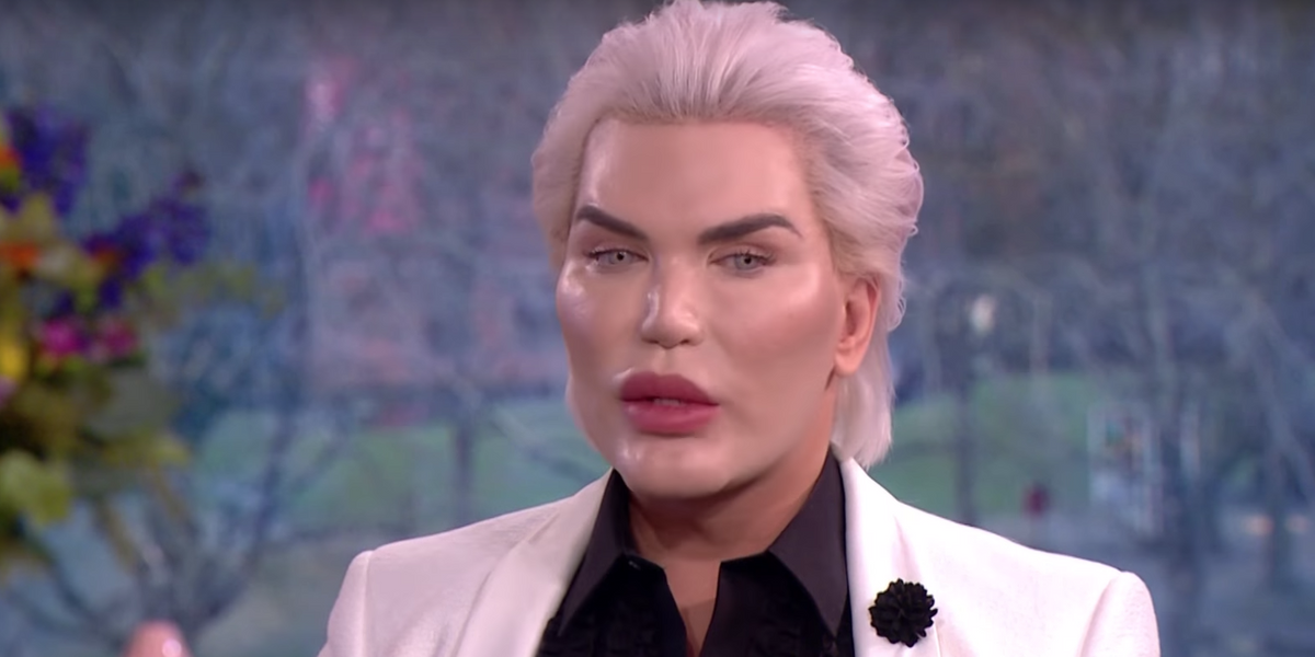 Human Ken Doll Brings His Ribs in a Jar for TV Appearance