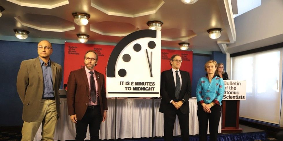 The Doomsday Clock Is Now Just Two Minutes to Midnight