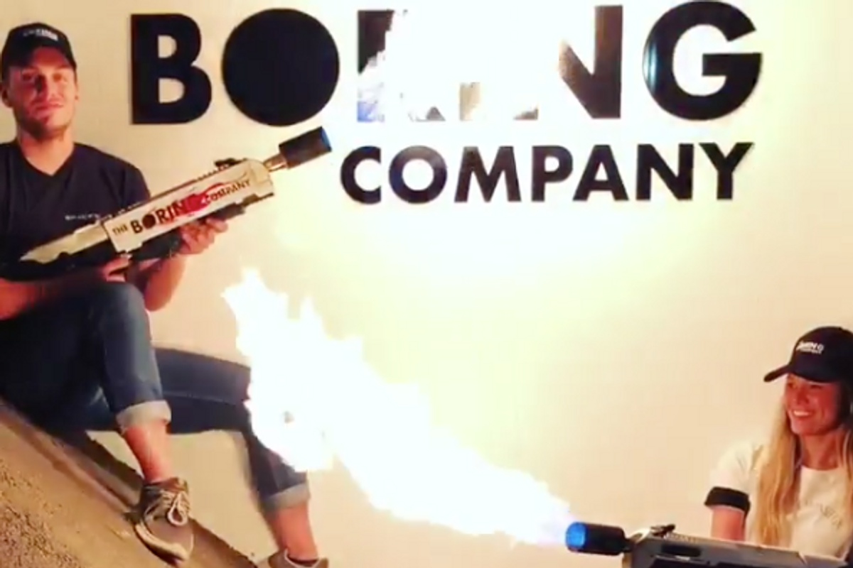 Elon Musk Is Selling $500 Flamethrowers
