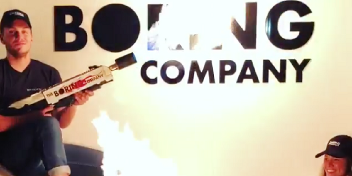 Elon Musk Is Selling $500 Flamethrowers