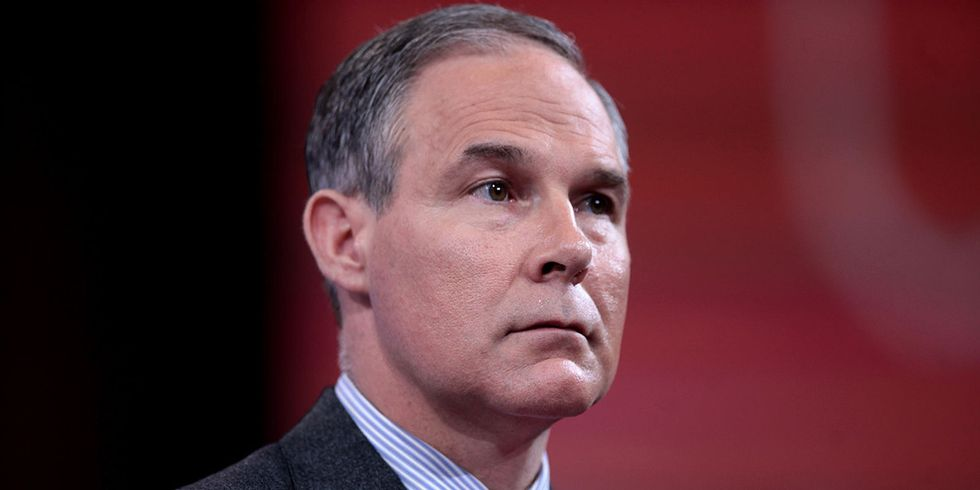 Climate Information Purge Was Directed by Pruitt, EPA Emails Show