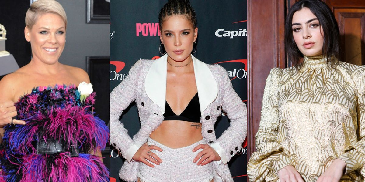 Charli XCX, Halsey and P!nk Respond to Grammy President's 'Step Up' Comment