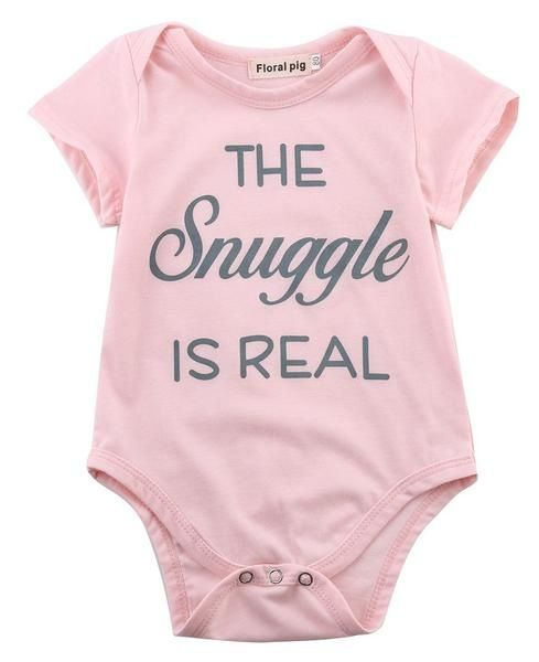 Baby Romper Humans arent Real 100/% Cotton Long Sleeve Infant Bodysuit