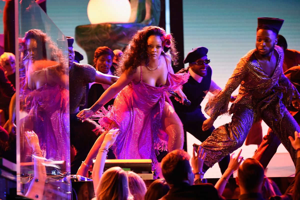 Meet the Mastermind Behind Rihanna's Wild Grammys Performance