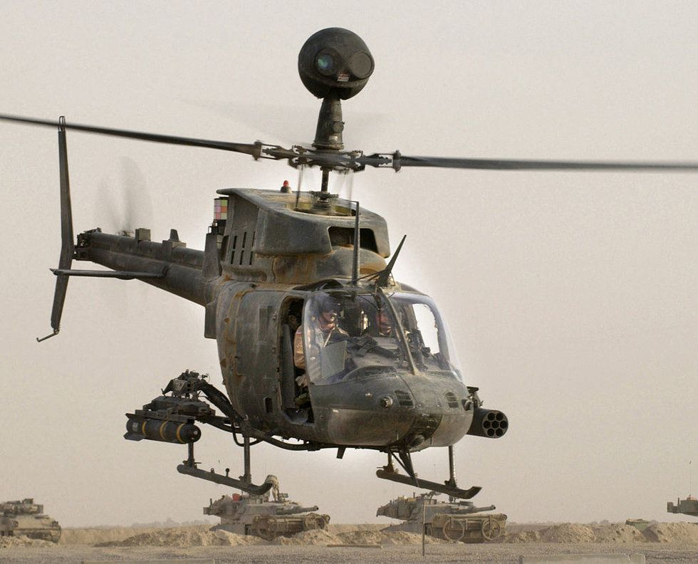 The reason Army helicopters are named after native tribes