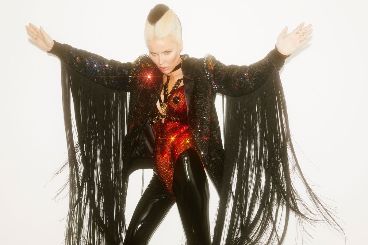 Daphne Guinness and The Blonds: Separated at Birth