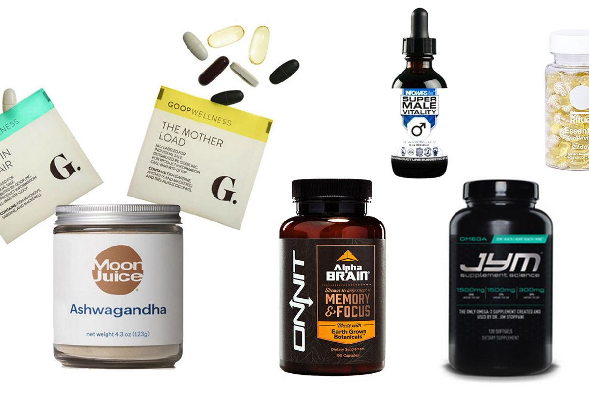 What Your Vitamins Say About You