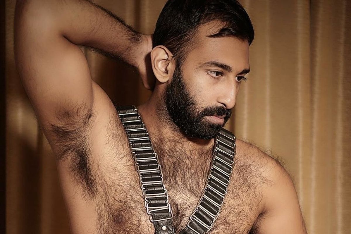 The Pakistani-American 'Mr. Leather' Busting BDSM Stereotypes