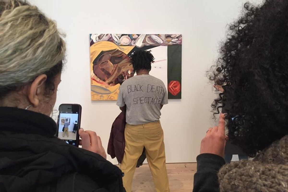 Artist Who Protested Whitney Biennial's Emmett Till Painting Finds His Likeness Used for Profit