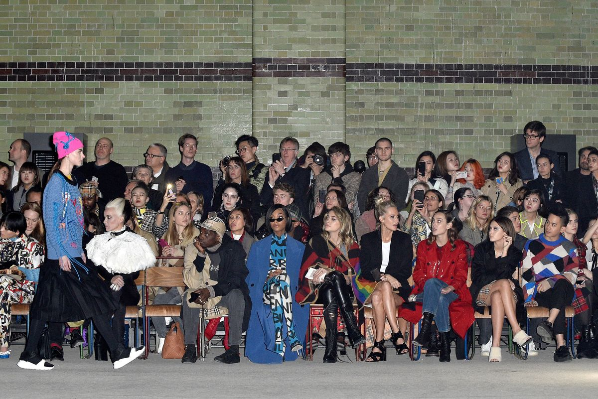 Every Celebrity Was at Christopher Bailey's Final Burberry Show