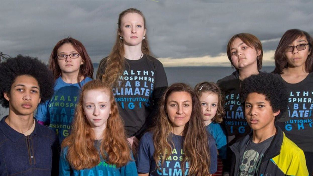 13 Youths 'in a Position of Danger' Sue Washington State Over Climate Crisis