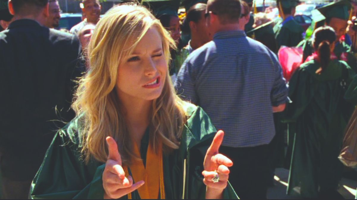 Trying To Go To Class More Than You Don't, As Told By Kristen Bell