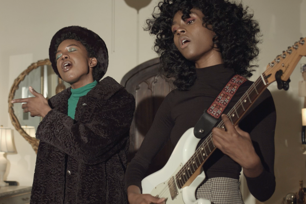 St. Beauty Performs Live in the PAPER Penthouse