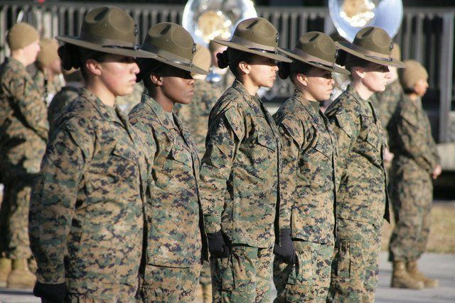 Image result for military femLES