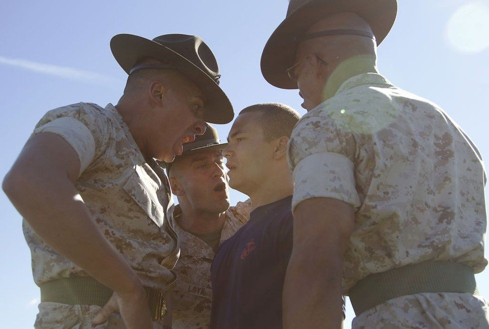 23 Photos of Drill Instructors terrifying the hell out of