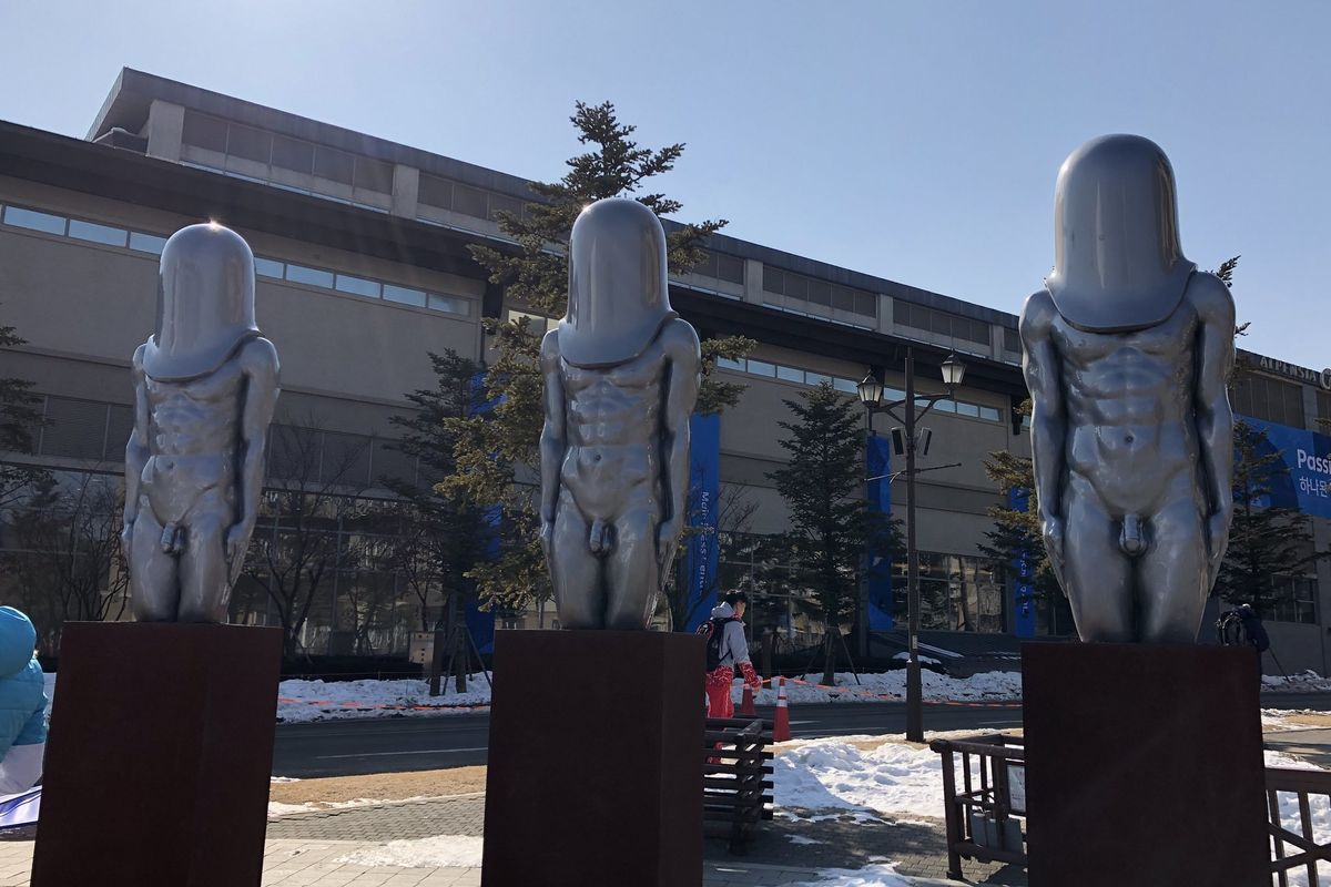Who Are the Giant Penis-Men of the Olympics?