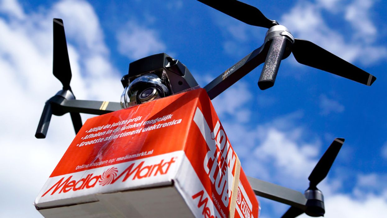 Small Drones Could Be Better for Climate Than Delivery Trucks, Says Study