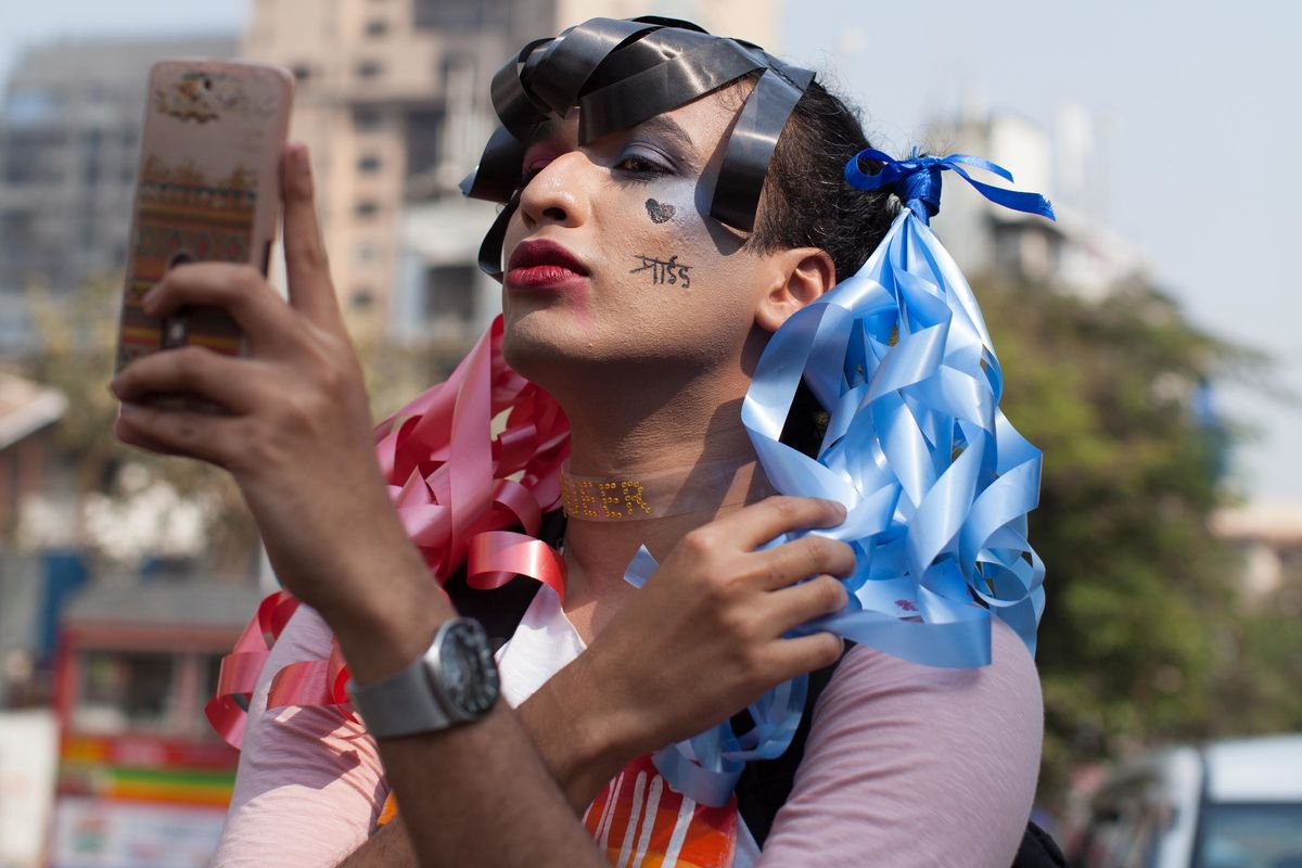 26 Photos From Mumbai's Queer Azaadi March