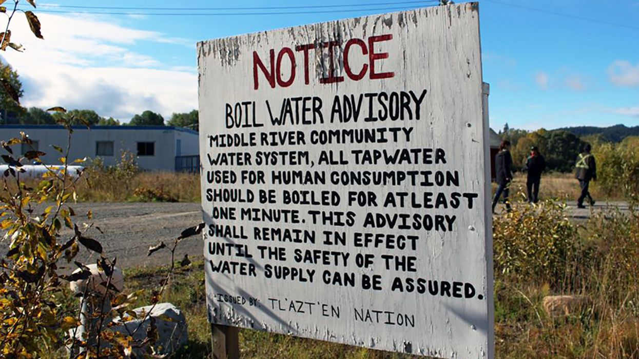 More Action Needed to Ensure Safe Water for First Nations