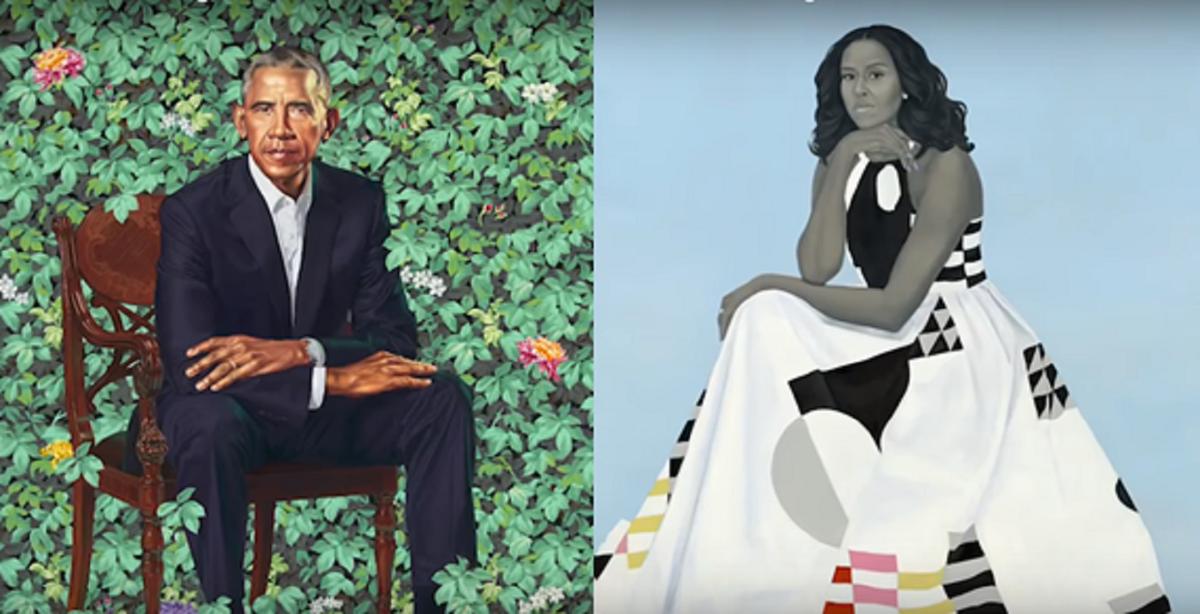 The Smithsonian Unveils The Obama Portraits