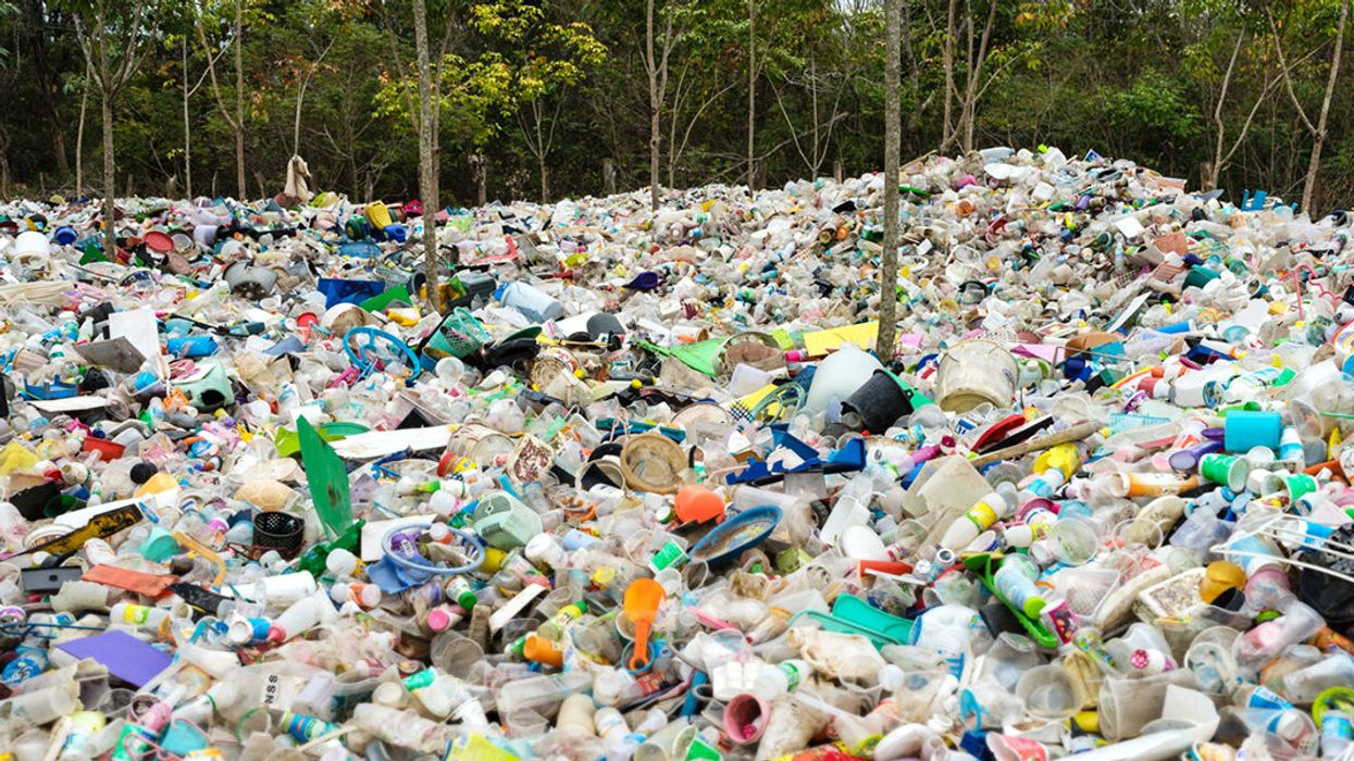 We Are Drowning In Plastic, and Fracking Companies Are Profiting