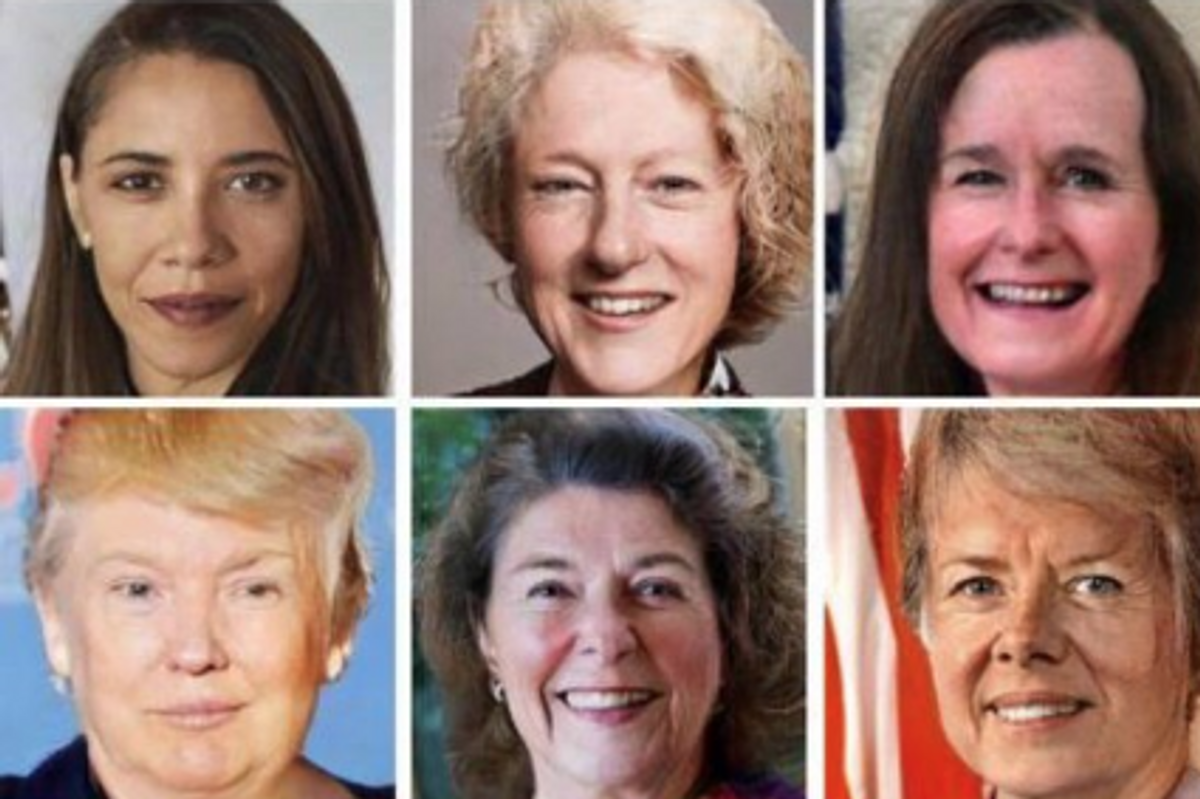 Someone Turned the Presidents into Women and It's Freaky