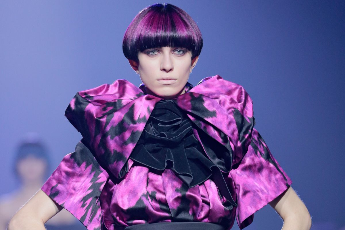 Marc Jacobs Makes a Case For the Neon Bowl Cut