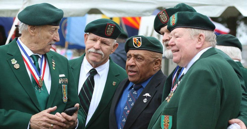cf0d09c06e55e This is why the Green Berets wear a green beret - We Are The Mighty