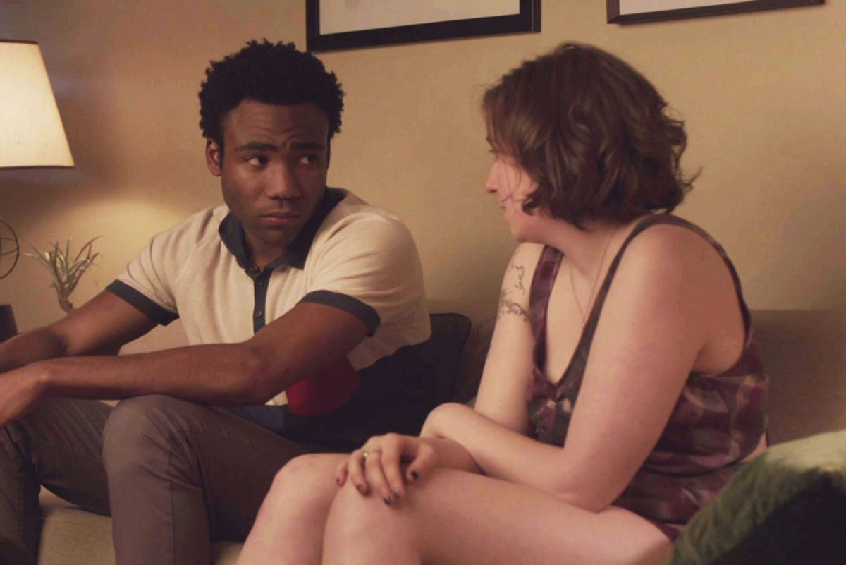 Lena Dunham Reveals Donald Glover Felt Tokenized On 'Girls'