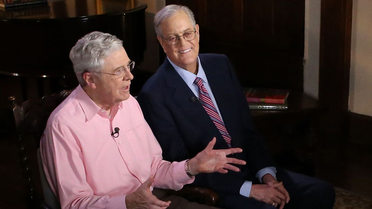 Koch Network Took Credit for Dakota Access, Keystone XL and REINS Act, Leaked Memo Shows
