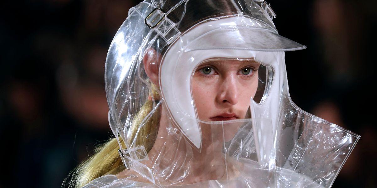 Hazmat Suits Were Sent Down the Runway For Paris Fashion Week
