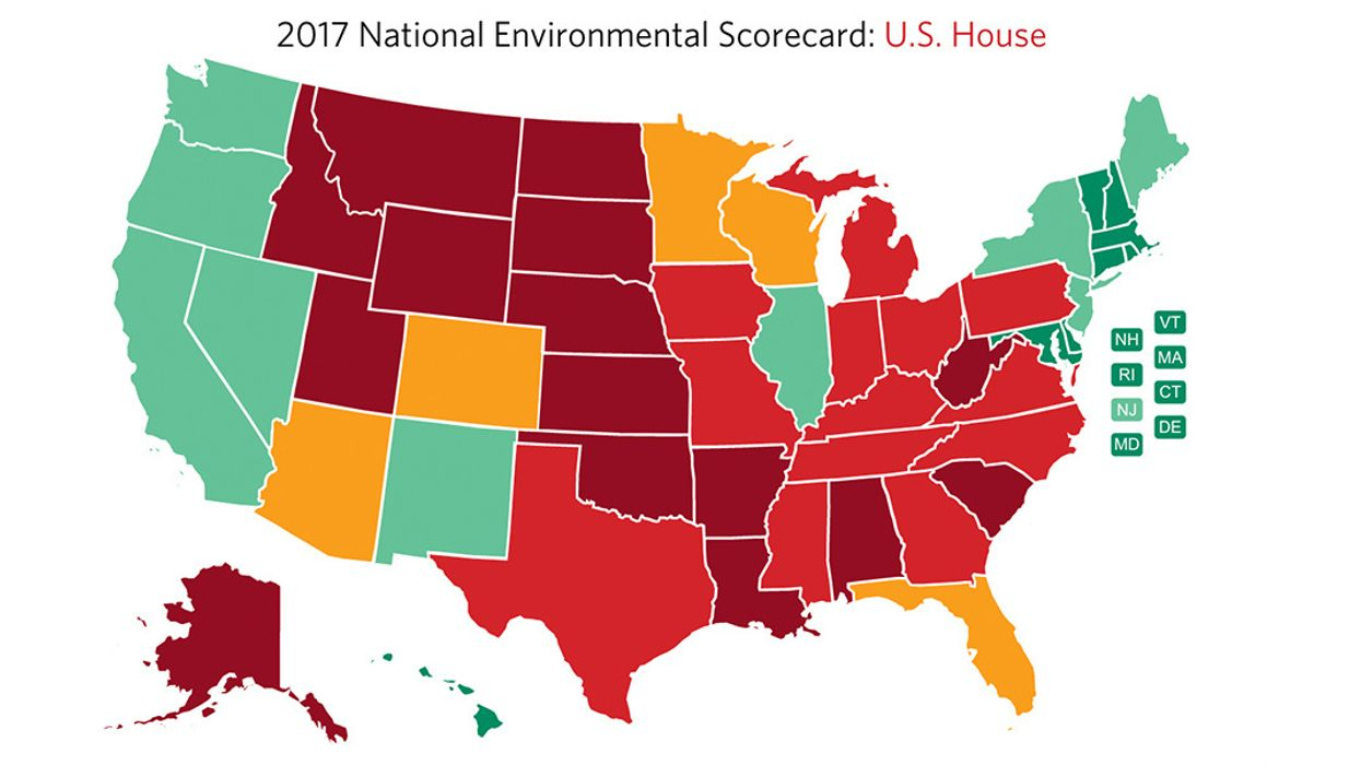 Republicans in Congress Flunk Environment and Public Health Report Card With Average Grade of 1%