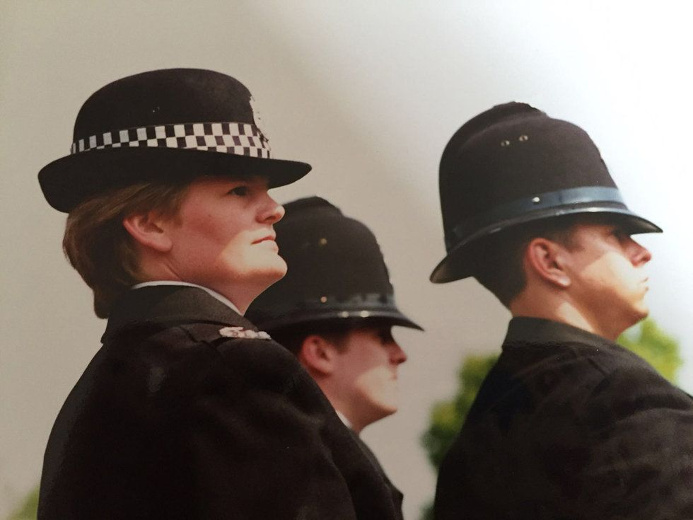 c1438467d2900a Emily Heath on the job when she worked for the Cheshire Police.
