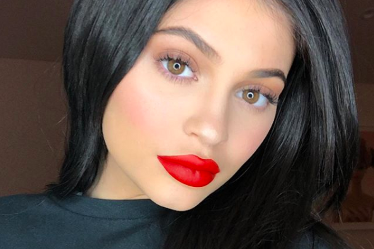 Kylie Jenner Shares the First Photo of Stormi Webster's Face