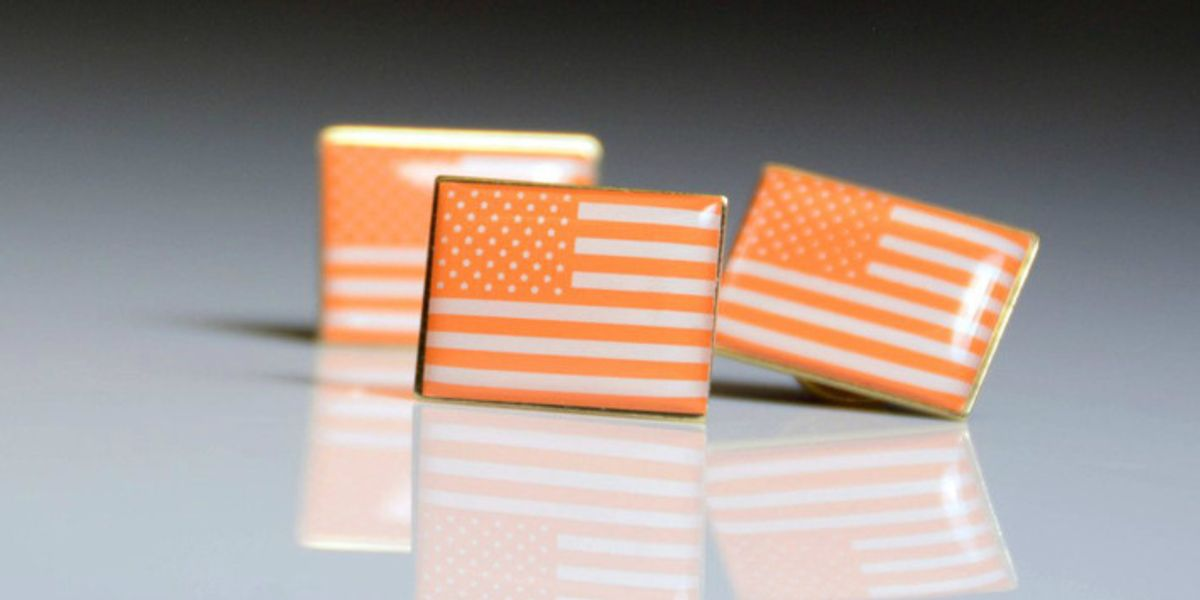 Why Stars Will Wear Orange American Flags to the Oscars Tonight