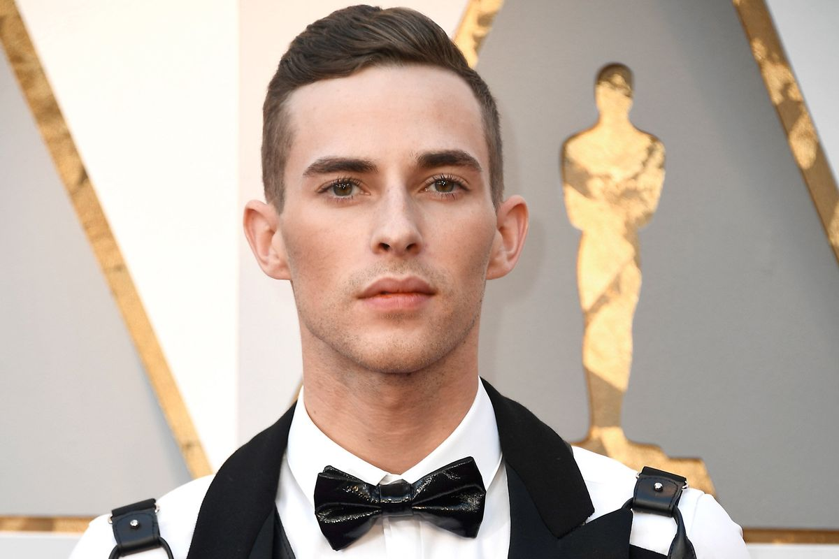 Adam Rippon Brings Moschino Bondage to the Oscars