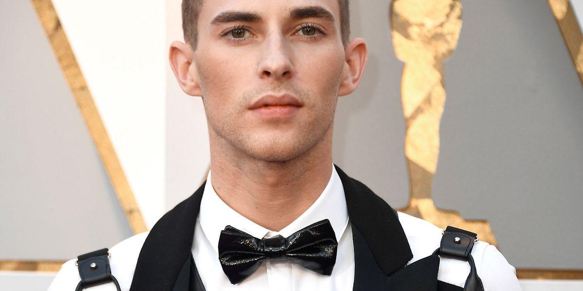 Adam Rippon Brings Moschino Bondage to the Oscars