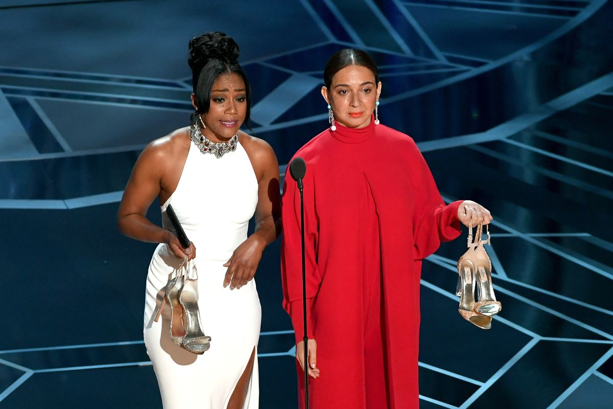 Tiffany Haddish's Oscars Dress Sure Looked Familiar