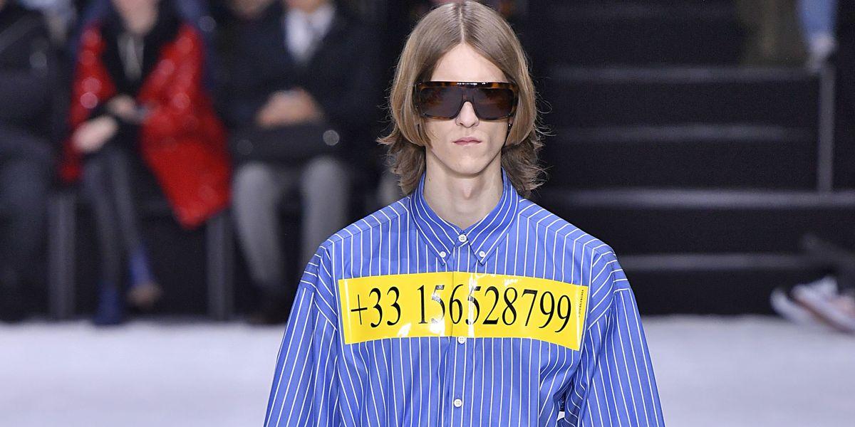 Demna Gvasalia Created a (Fake) Balenciaga Hotline
