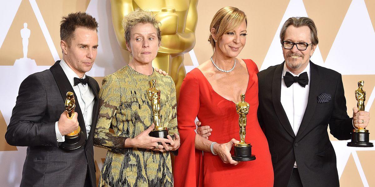 Someone Stole Frances McDormand's Oscar