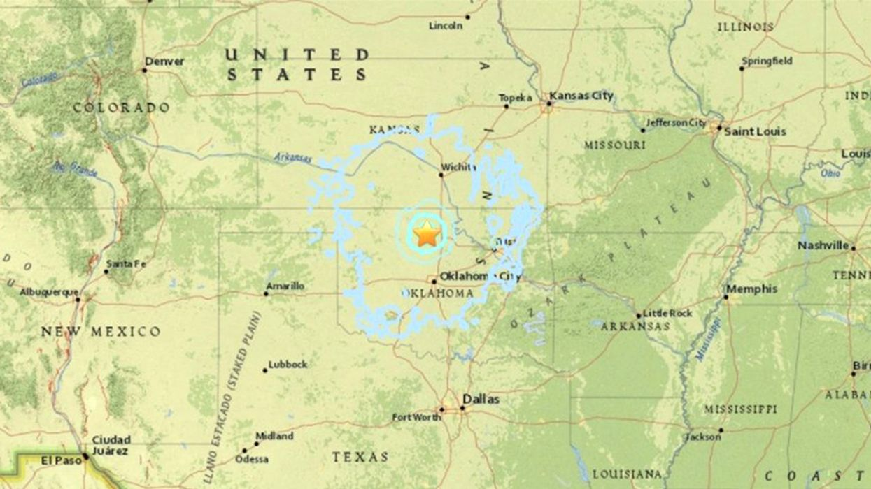 Two 4.2-Magnitude Earthquakes Rattle Northern Oklahoma in a Single Evening