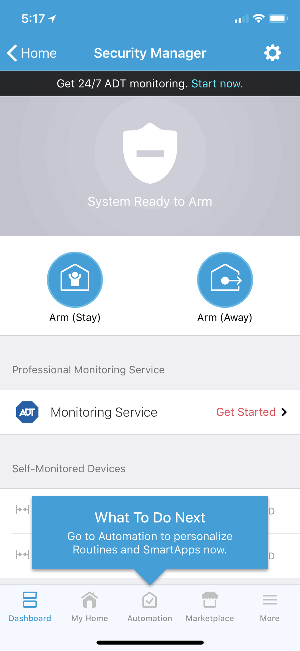 Review: ADT Home Security Starter Kit needs ADT service too