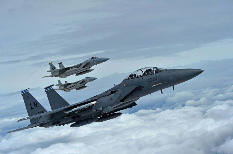 Britain deploys fighters to deter Russians over NATO