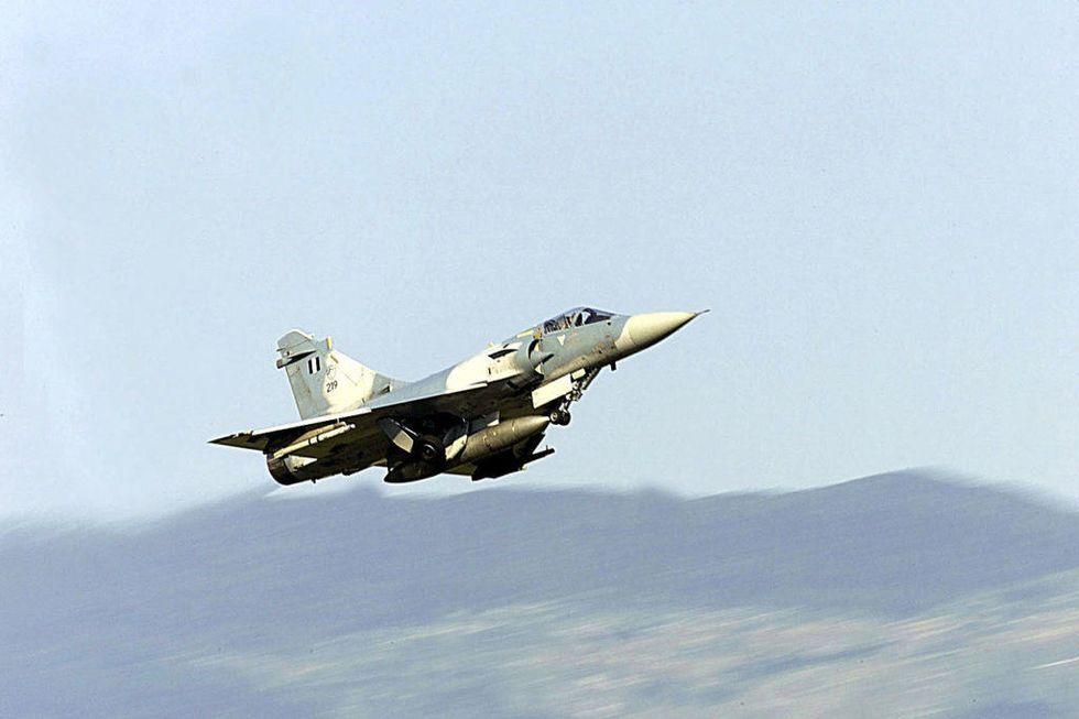 air battle india china